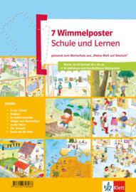 Wimmelposter Schule en Lernen 7 Poster