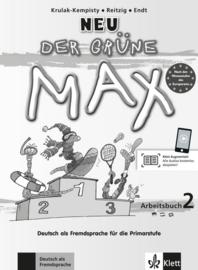Der Grüne Max Neu 2 Arbeitsbuch mit Audio-CD