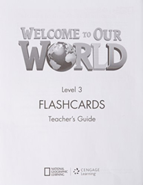 Welcome To Our World 3 Flashcards Set