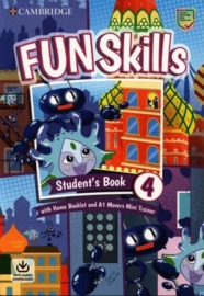 Fun Skills Level 4/Movers Student's Book with Home Booklet and Mini Trainer with Downloadable Audio