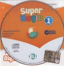 Super Magic 1 Class Digital Book - Dvd