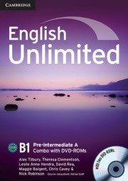 English Unlimited Combos Pre-intermediate A Combo with DVD-ROMs (2)