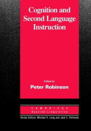 Cognition and Second Language Instruction Paperback