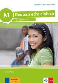 Deutsch echt einfach A1 Oefenboek met Audio online