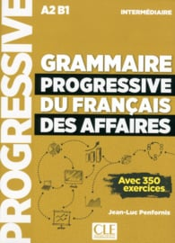 Grammaire progressive du français de affaires- Niveau intermédiaire - Livre + CD + Livre-web - Nouvelle couverture