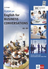 Flash on English for Business Conversations, Student's Book with downloadable MP3 Audio Files