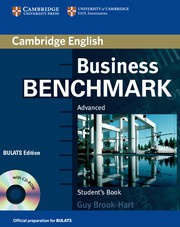 Business Benchmark Second edition Advanced Student's Book with CD-ROM BULATS edition