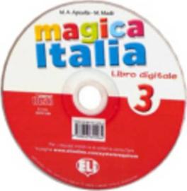 Magica Italia 3 Class Digital Book - Dvd
