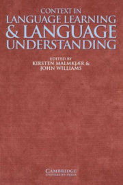 Context in Language Learning and Language Understanding Paperback