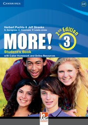 More! Second edition Level3 Student's Book with Cyber Homework and Online Resources