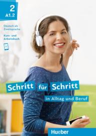 Schritt für Schritt in Alltag und Beruf 2 Studentenboek + Werkboek