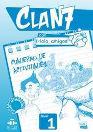 Clan 7 con ¡Hola, amigos! 1 - Cuaderno de actividades