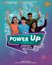 Power Up Level6 Activity Book with Online Resources and Home Booklet