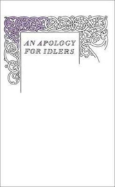 An Apology For Idlers (Robert Louis Stevenson)