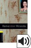 Oxford Bookworms Library Stage 1 Remember Miranda Audio