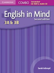 English in Mind Second edition Levels3Aand3B Combo Testmaker CD-ROM and Audio CD