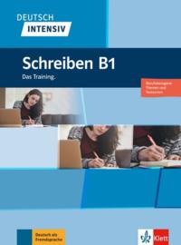 Deutsch intensiv Schreiben B1 Buch + online