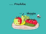 Vleesvlieg Freddie wordt Veggie (Janine Degenaars) (Paperback / softback)