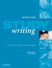 Study Writing Second edition Paperback