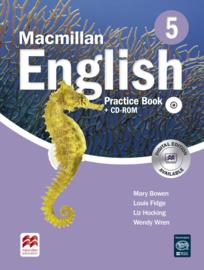 Macmillan English Level 5 Practice Book & CD-ROM Pack