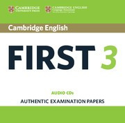Cambridge English First 3 Audio CDs (2)
