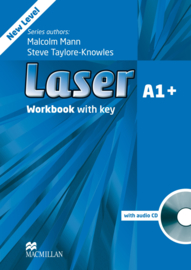 Laser 3rd edition Laser A1+  Workbook with Key & CD Pack