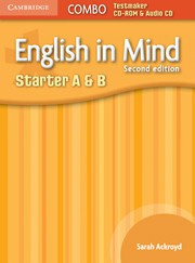 English in Mind Second edition StarterAandB Combo Testmaker CD-ROM and Audio CD