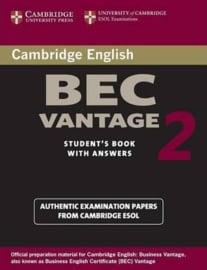 Cambridge BEC 2 Vantage Student's Book with Answers
