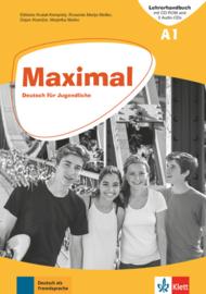Maximal A1 Lehrerhandbuch mit CD-ROM, 2 Audio-CDs zum KB und 1 Audio-CD zum AB