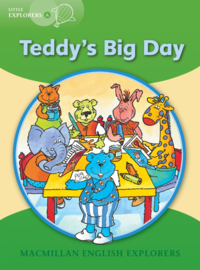 Little Explorers A -  Teddy's Big Day Reader