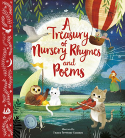 A Treasury of Nursery Rhymes and Poems (Picture Book)