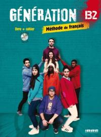Méthode de français Génération B2 - Livre + cahier