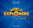 World Explorers Level 2 Class Audio Cds