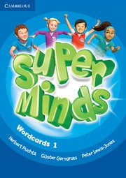 Super Minds Level1 Wordcards