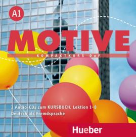 Motive A1 Audio-CDs bij het Studentenboek Les 1–8