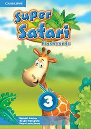 Super Safari British English Level3 Flashcards (Pack of 78)