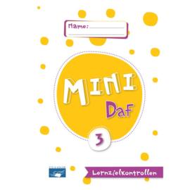 Mini DaF 3 Lernzielkontrollen
