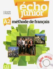 Écho Junior - Niveau A2 - Livre de lélève + DVD Rom