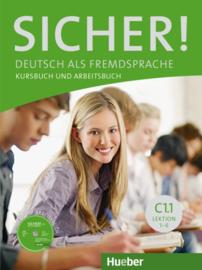 Sicher! C1/1 Studentenboek en Werkboek met CD-ROM bij het Werkboek Les 1–6