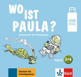 Wo ist Paula? 3+4 Lehrwerk digital auf USB-Stick