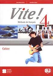 Vite! 4 Activity Book + Student's Audio CD