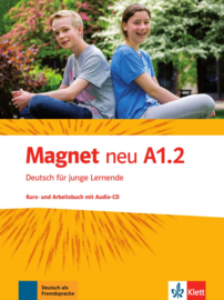 Magnet neu A1.2 Studentenboek en Werkboek met Audio-CD
