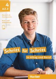 Schritt für Schritt in Alltag und Beruf 4 Studentenboek en Werkboek