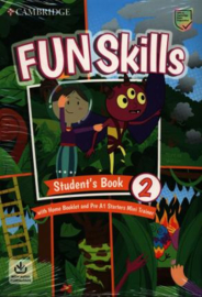 Fun Skills Level 2/Starters Student's Book with Home Booklet and Mini Trainer with Downloadable Audio