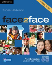 face2face Second edition Pre-intermediate Student's Book with DVD-ROM and Online Workbook Pack