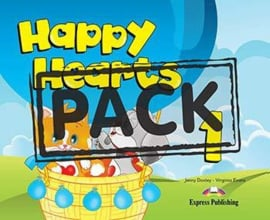 Happy Hearts 1 Pupil's Pack 4 (songs Cd / Dvd Pal) (new)