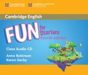 Fun for Starters, Movers and Flyers Fourth edition Starters Audio CD