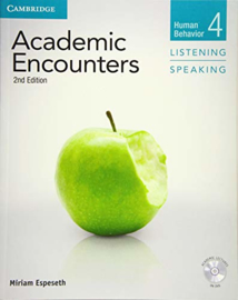 Academic Encounters Level 4 Student's Book Listening and Speaking with DVD