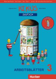 KIKUS Deutsch Arbeitsblätter 3 (5 bis 10 Jahre)