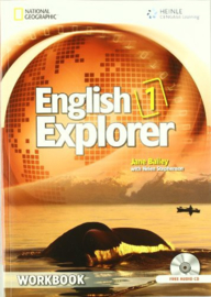 English Explorer 1 Workbook with Audio Cd (x2)